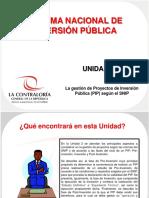 La gestión de Proyectos de Inversión  Pública (PIP) según el SNIP