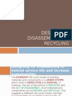 Design for Disassembly and Recycling