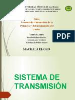 Conf 4, Sistema de Transmision.