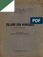 Ţiganii Din România Monografie Etnografică