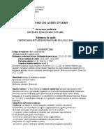 Raport de Audit Intern 2