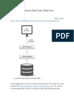Client Side Server Side