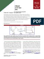 Novel Quinoxaline Based Organic Sensitizers for DSSC