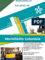 Convocatoria Jefes de Expertos WorldSkills