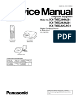 Service Manual Kx Tgd210ag1