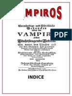 Investigacion de Los Vampiros
