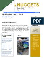 January 2016 NUPA Newsletter