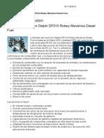 Delphi DP210 Rotary Mecánica Diesel Fuel_Informacion