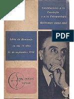 Contribuciones a La Psicología y a La Psicopatología-Peri Psyches Publicaciones (1962)