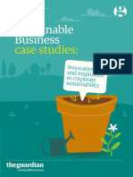 Sustainable Business Case Studies 2014.