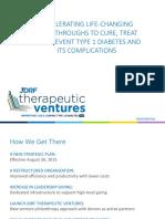 JDRF Therapeutic Ventures