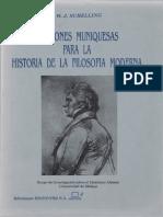 Schelling - Lecciones Muniquesas Para La Historia de La Filosofia Moderna