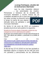 Carta Publica a Jorge