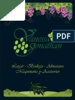 Catalogo Vanessa Jonathan 2013