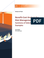 WDR15 Bp BenefitCost Analysis for Risk Management Wethli