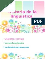 Historia de La Linguística (1)