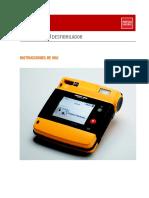 Desfibrilador Life Pack p1000