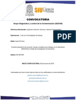 CONVOCATORIA GDCON