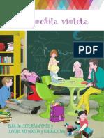 Guia de Lectura Infantil La Mochila Violeta