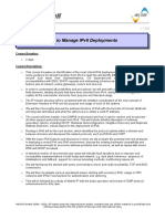 Managing IPv6 Deployments v1.000 TOC