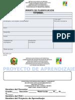Formato PA Y Planificación