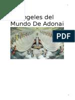 Angeles Del Mundo de ADONAI