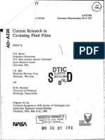 Current Research in Cavitating Fluid Films