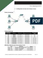 Configuration de Base de Réseaux Locaux Virtuels