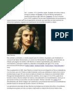 Biografía Newton