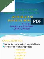 Prezentare Forme de Organizare Politica in Lumea Romana.