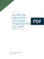 Rapport Administratif Transfert pays