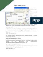 Elementos Del Área de Trabajo de Excel