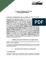 Denuncia de corrupción en MANDURIACU
