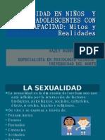 SEXUALIDAD EN NIÑOS  Y ADOLESCENTES CON DISCAPACIDAD