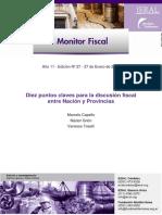 3308-Diez Puntos Claves Para La Discusión Fiscal Entre Nación y Provincias