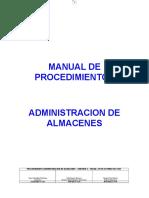 Manual Procedimientos Almacenes Ver1