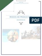 Modos de Produccion (argumento)
