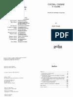 36061004 Goody Jack Cocine Cuisine y Clase Antropologia Ensayo PDF