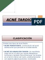Acne Tardio