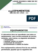 ANVISA - Equipamentos - NBR 17025