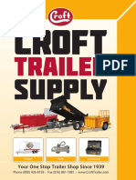 Croft Trailer Supply Catalog 2016
