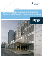 Environmentally Sustainable Construction Products and Materials_Final_report