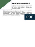 HUI-3 (Health Utilities Index - 3)