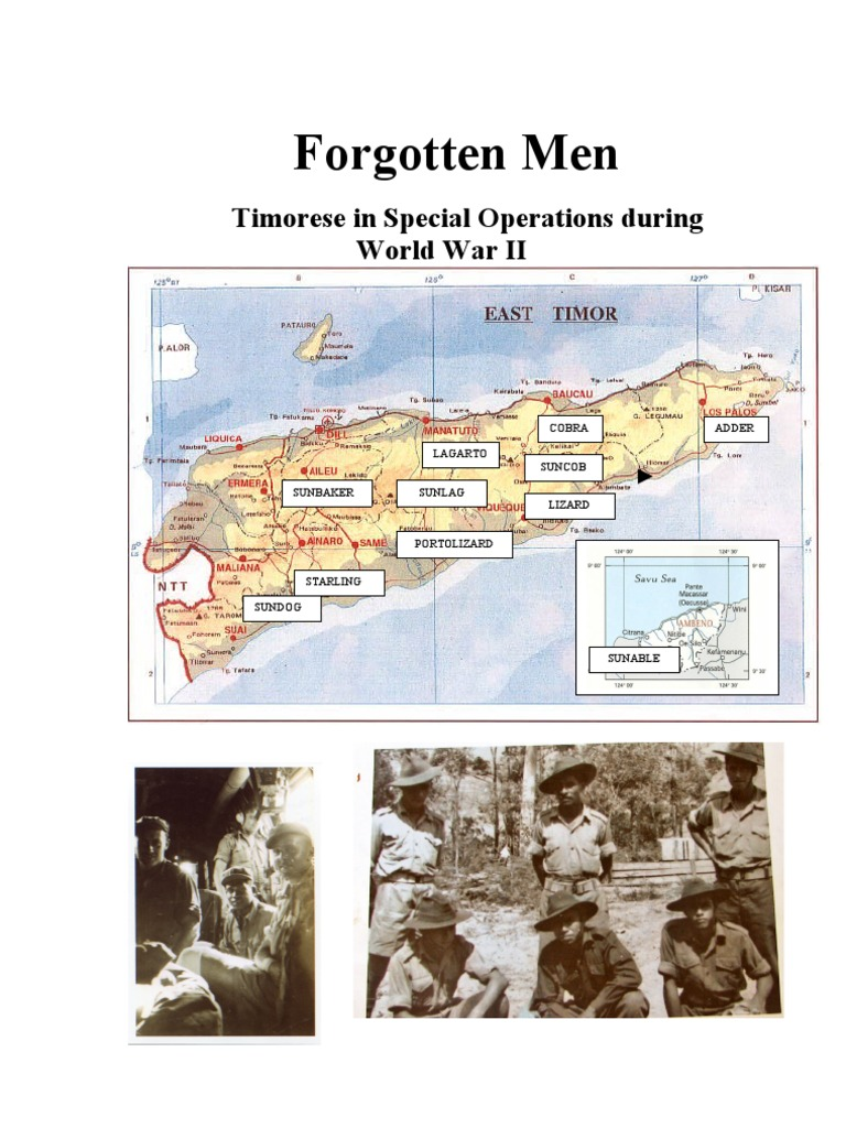 4c393ee8c4839 Forgotten Men  Timorese in Special Operations during World War II ...