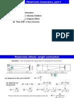 Lecture 2 Relativistic Kinematics II