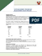 especificaciones tecnicas IE