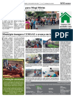 Diário Oficial M. Mirim – Município inaugura CEMAAE - Agosto/2014