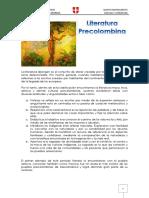 Literatura Precolombina Documento