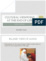 13b nurs cultural viewpoint at the end of life