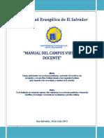 CVirtualUEES - Manual Del Profesor